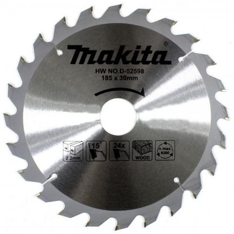 Makita D-52598 185mm 24 Diş Elmas Daire Testere