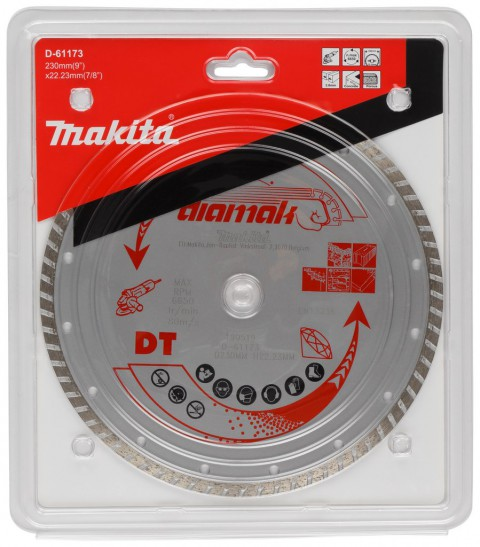 Makita D-61173 Dıamak Elmas Testere 230 mm Dalgalı