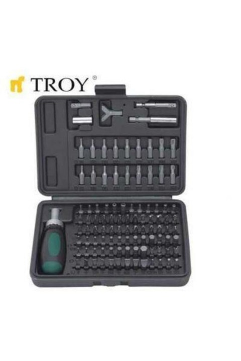 Troy T22309 Tornavida Bits Uç Seti (101 Parça)