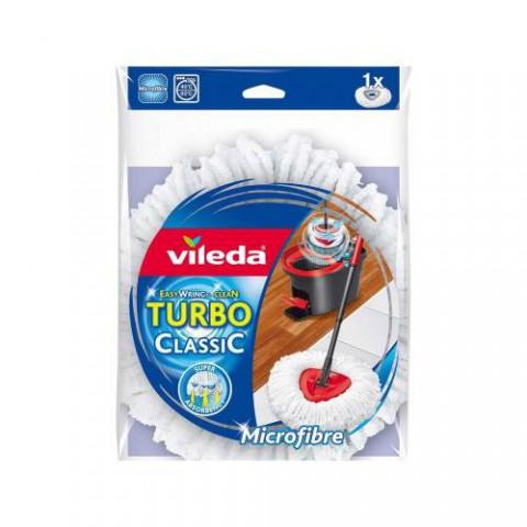 Vileda Turbo Easy Wring Mikrofiber Paspas Yedek Beyaz